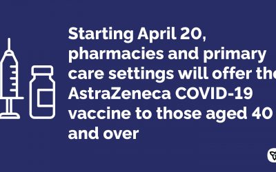 Ontario Safely Expands Age Eligibility for AstraZeneca COVID-19 Vaccine to 40+