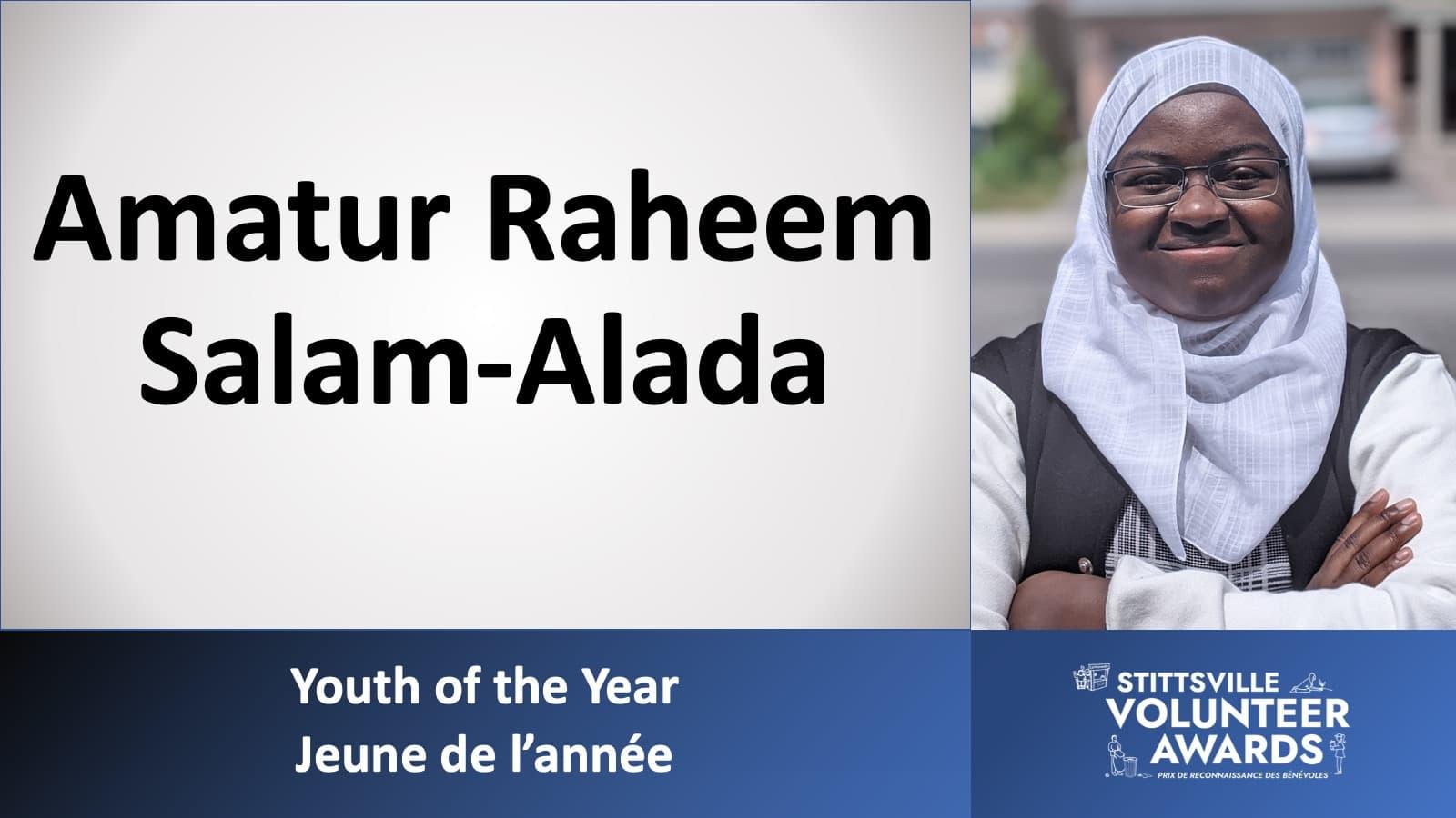 Amatur Raheem Salam-Alada