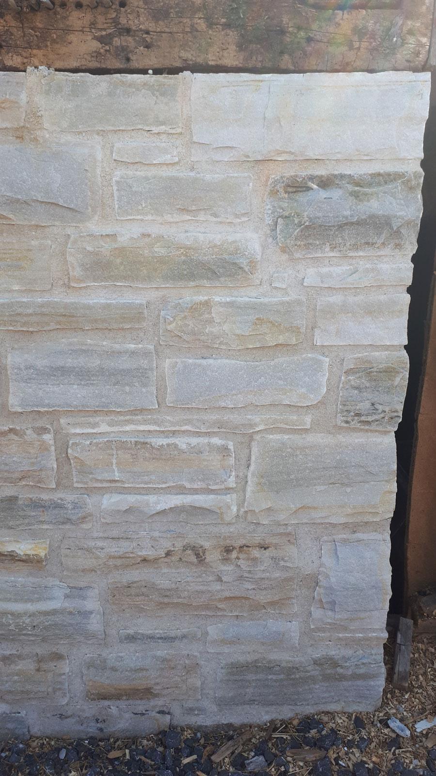 Bradley-Craig barn foundation restoration, April 2021
