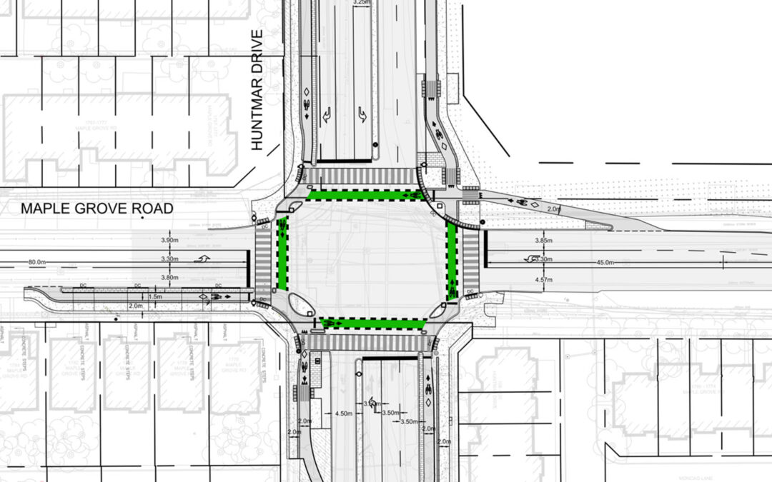 Huntmar/Maple Grove intersection will be upgraded in 2022