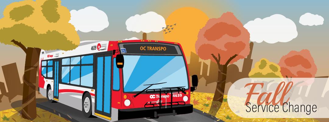 OC Transpo Fall Service Starts September 5